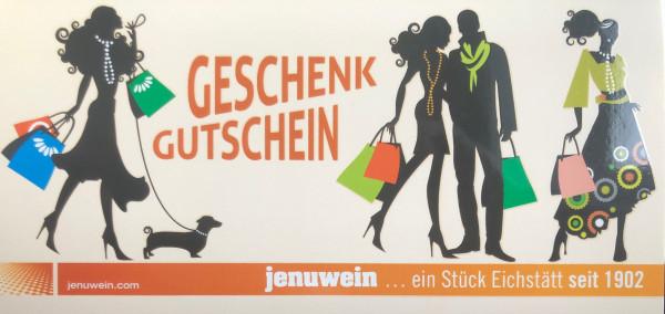Gutschein - Modehaus Jenuwein - 100 Euro
