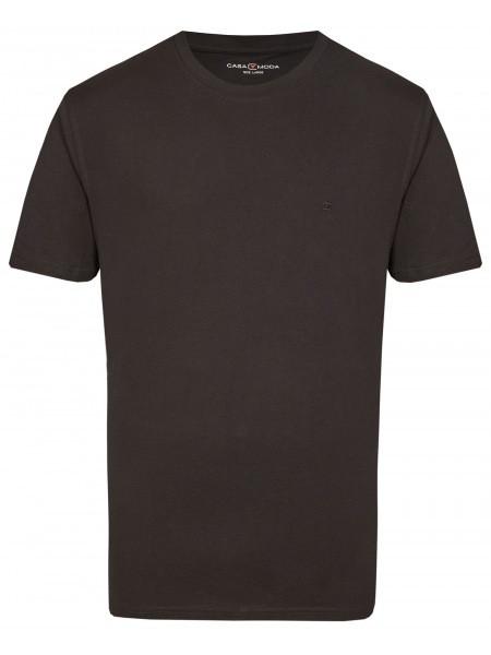 T-Shirt - Doppelpack - Rundhals - schwarz
